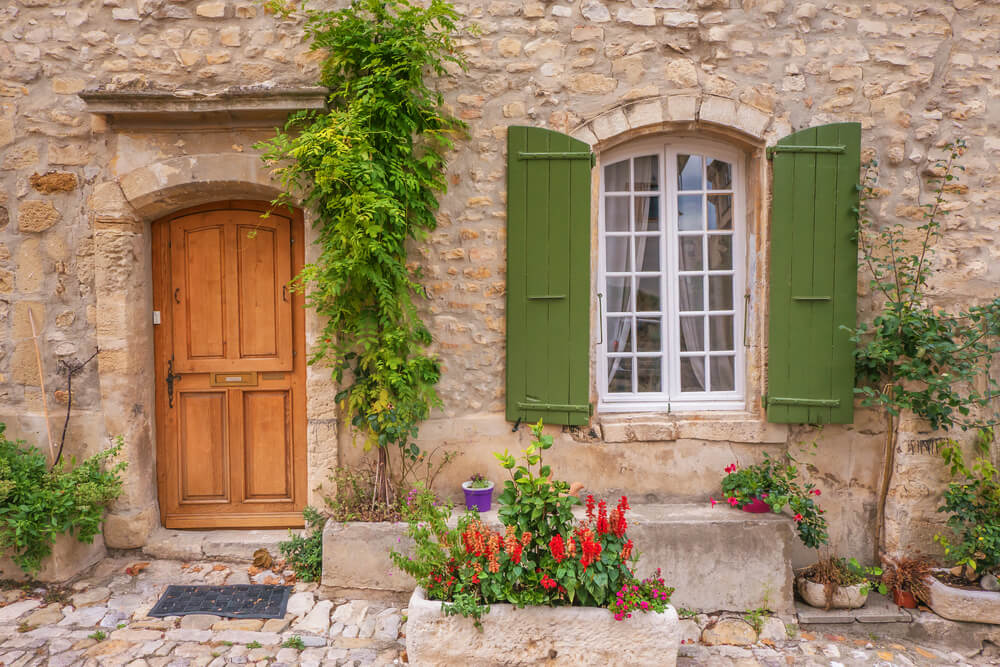 French-provincial-wooden-door-and-window